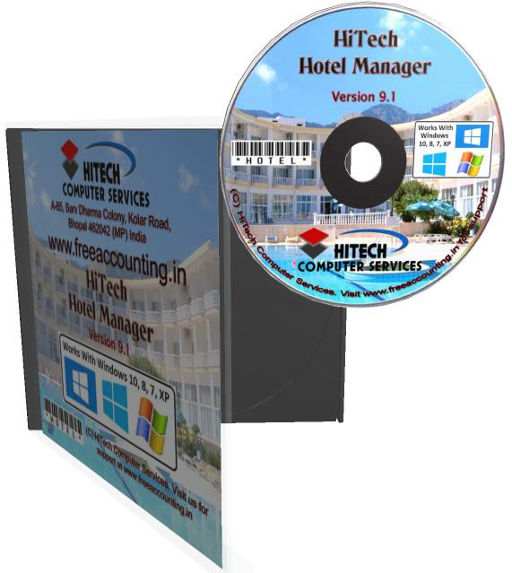 Hotel Accounting Software CD Case